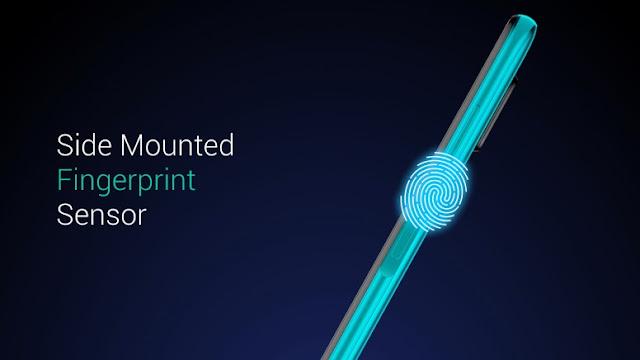 Redmi Note 9 Pro Max side mounted fingerprint sensor