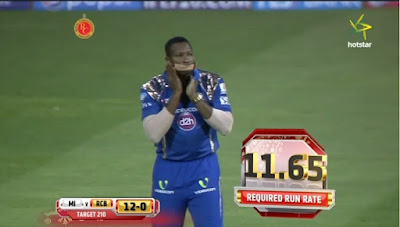 Pollard funny moment IPL