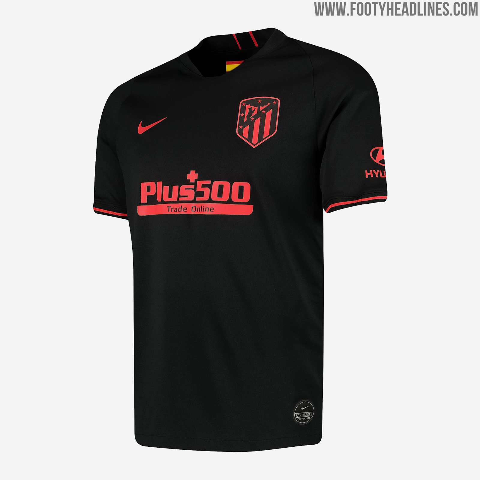 Atlético Madrid 19-20 Away Kit Released - Footy Headlines