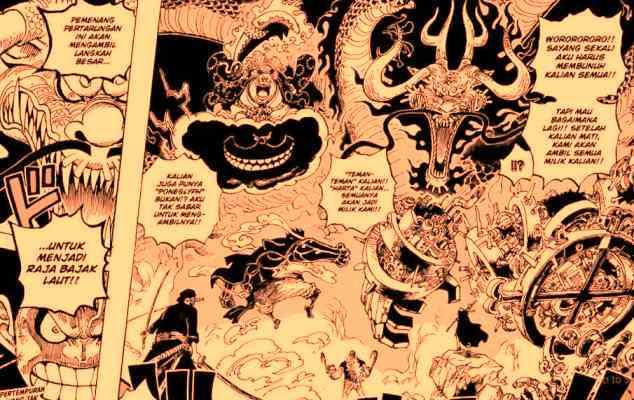 Luffy vs yonkou kaido