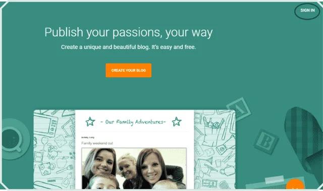 شرح كيفية انشاء مدونة بلوجر احترافية خطوة بخطوة  مجانا للمبتدئين