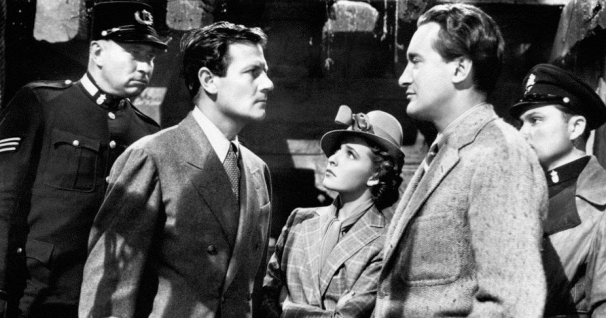 Foreign Correspondent (1940) - Repeat No Kidding - Turner