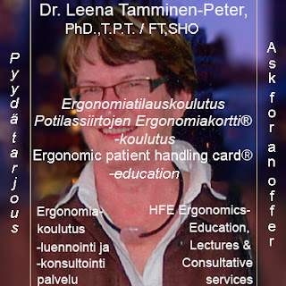 Ergonomic patient handling card® - trainer education