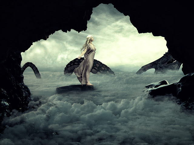 Create Fantasy Photo Mainupulation of Mother Of Dragon — Photoshop Tutorial