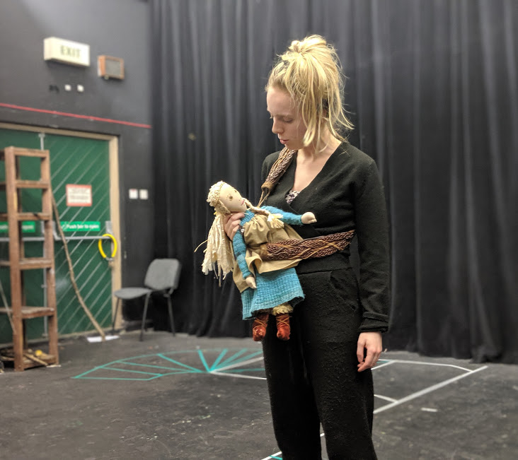 A Viking Christmas Review & Top Tips  - Lotte rehearsals