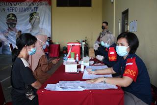 Vaksinasi Massal Di Polda Kalbar: Target Pemerintah 1 Juta Vaksin Perhari