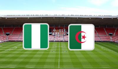 بث مباشر مباراة الجزائر ونيجيريا