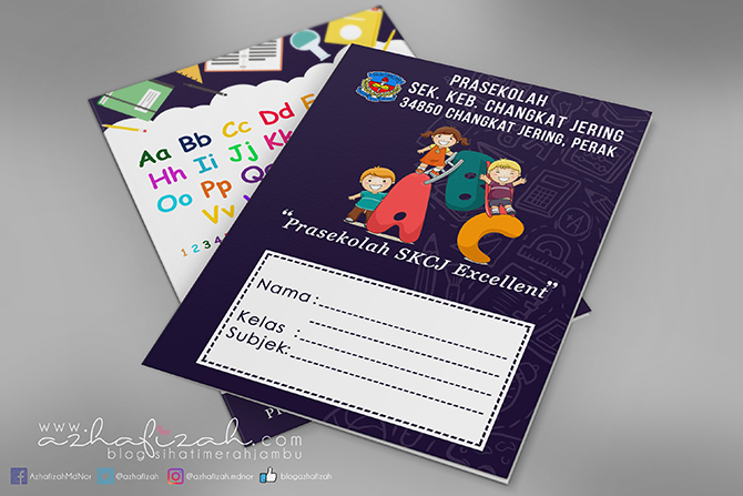 Tempahan Design Cover Buku Latihan SKCJ
