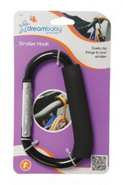 Dreambaby on the go stroller hook