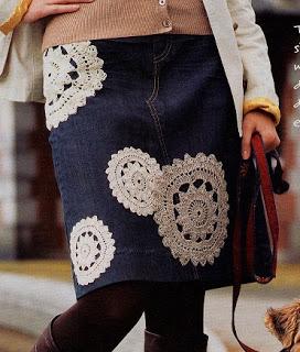 Apliques de Crochet para Prendas