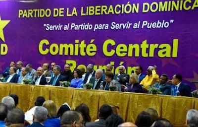 Comité Central del Partido de la Liberación Dominicana adelanta la reunión del Comité Central para elegir precandidatos