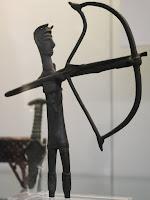 Bronzetto archer