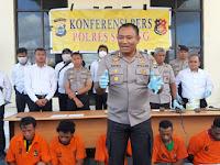 Polres Sorong Gelar Press Release Ungkap Kasus Pencurian Ternak Sapi