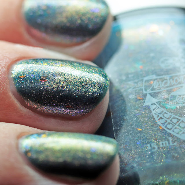 Anchor & Heart Lacquer 5 Second Rule