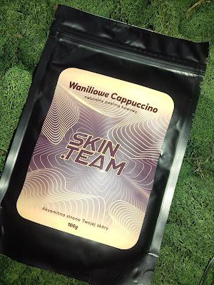 Kawowy peeling do ciała Waniliowe Cappuccino  SKIN.TEAM