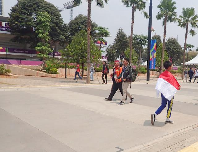 Momen Kebersamaan Saat Asian Games 2018
