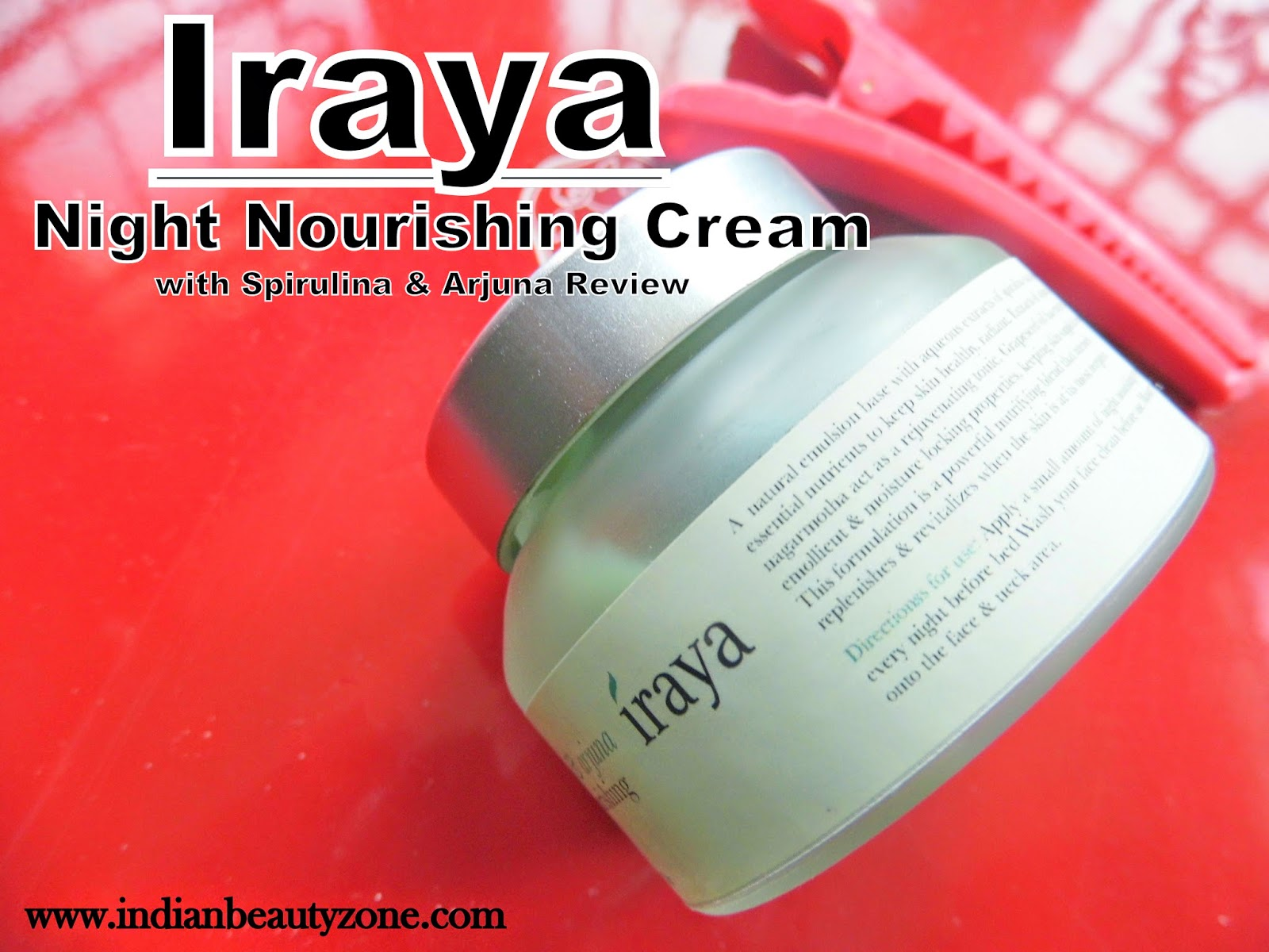 Night creams for oily skin