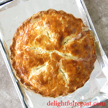 Chicken Pot Pie — Double-Crusted Classic Comfort Food / www.delightfulrepast.com