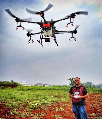 konsultan jasa pemetaan drone spray