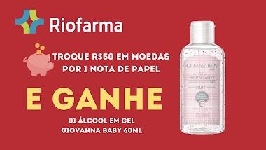 Drogaria Riofarma faz troca de moedas por  brinde exclusivo para incentivar a proteção dos seus clientes