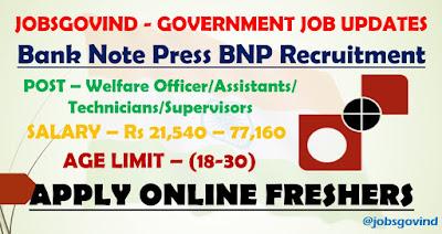 BNP Recruitment 2021