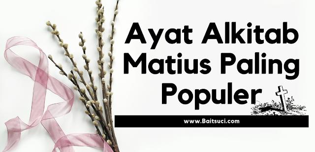 Ayat Alkitab Matius Paling Populer
