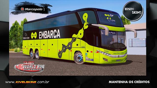 PARADISO G7 1600 LD - VIAÇÃO EMBARCA (PRINCESA DOS CAMPOS)