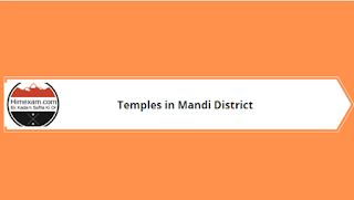 Temples in Mandi District