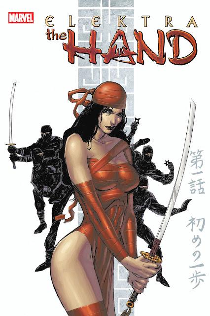 elektra comics cover