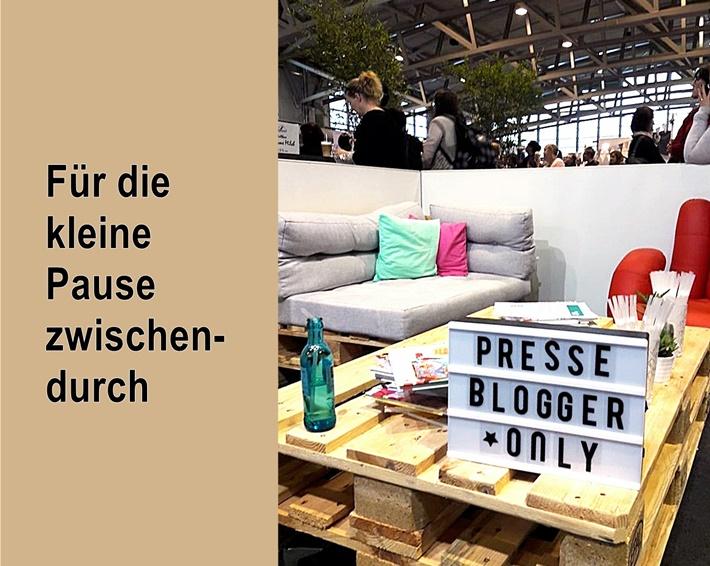 Bloggerlounge Messe Frankfurt