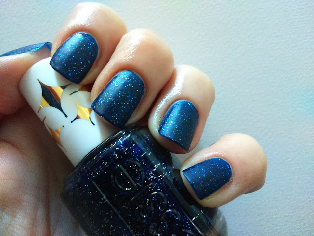 Essie Starry Starry Night Retro Revival with semi-matte top coat