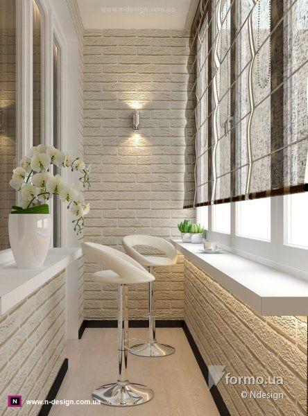 25 id ias de sacadas fechadas decora o e inven o for Balcony wall tiles design