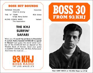 KHJ Boss 30 No. 40 - Gary Mack