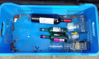 bottles and jars for recycling in Cyprus
