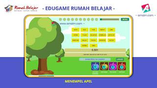 ARNAIM.COM - EDUGAME! PERMAINAN INTERAKTIF FITUR TERBARU RUMAH BELAJAR | MENEMPEL APEL
