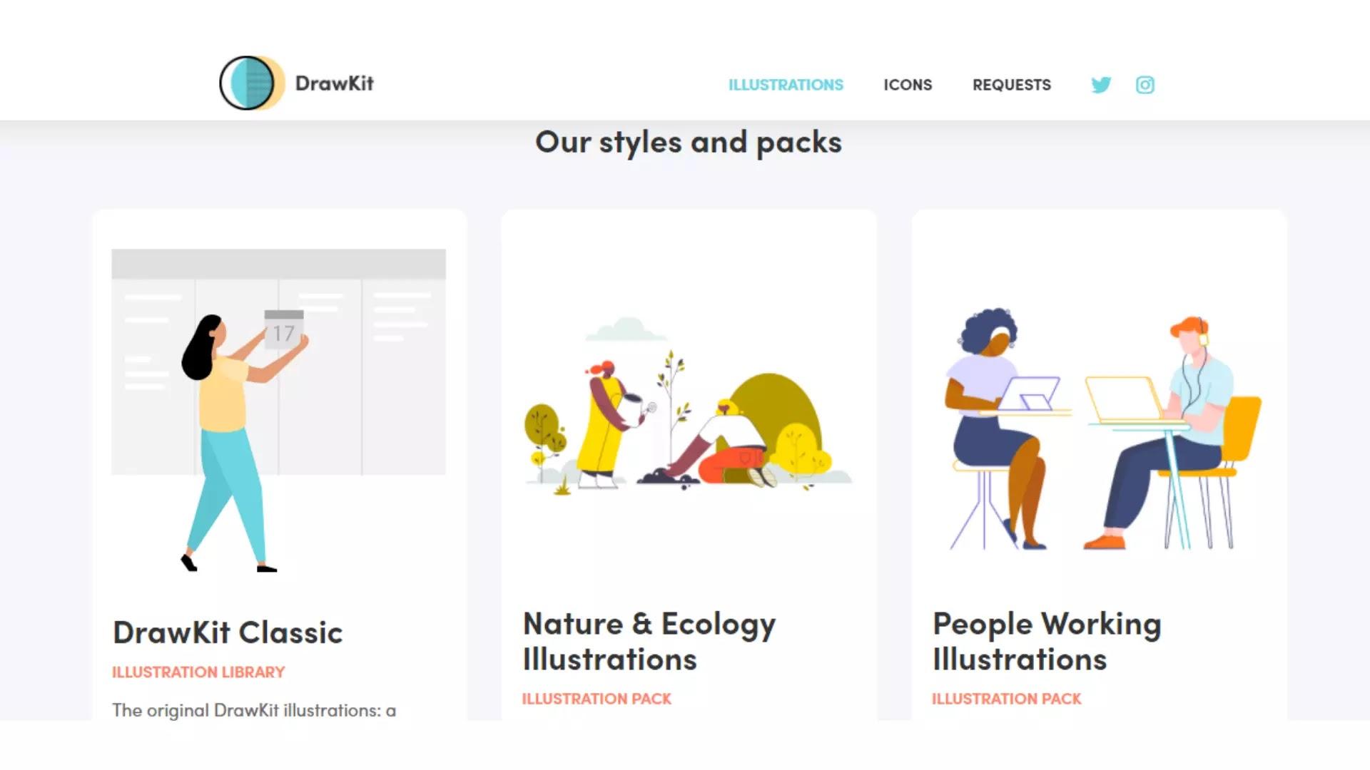 DrawKit free illustration resource
