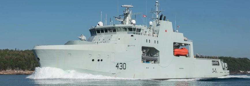 Канадський флот отримав перший патрульний криголам