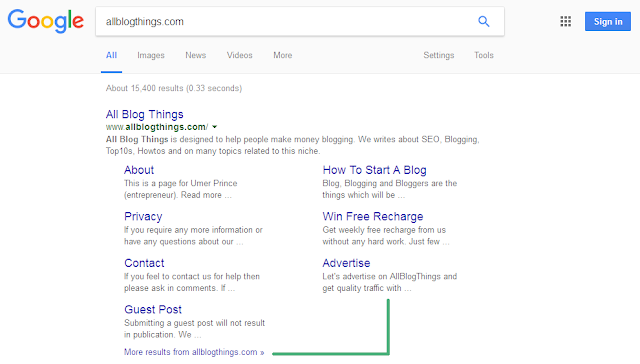 Check yourself how we look in Google serps