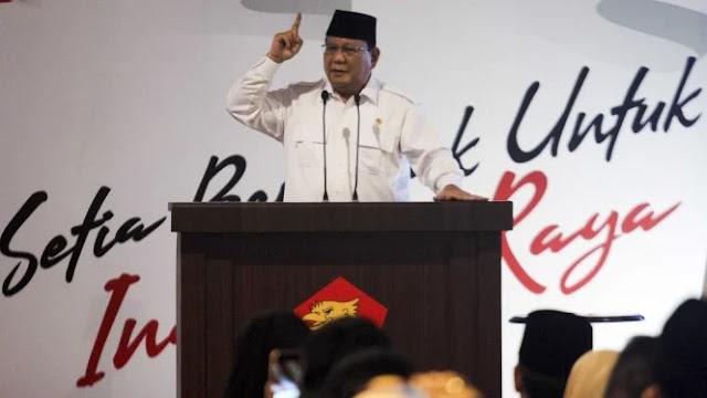 Prabowo Instruksikan Anggota Fraksi Gerindra Potong Gaji