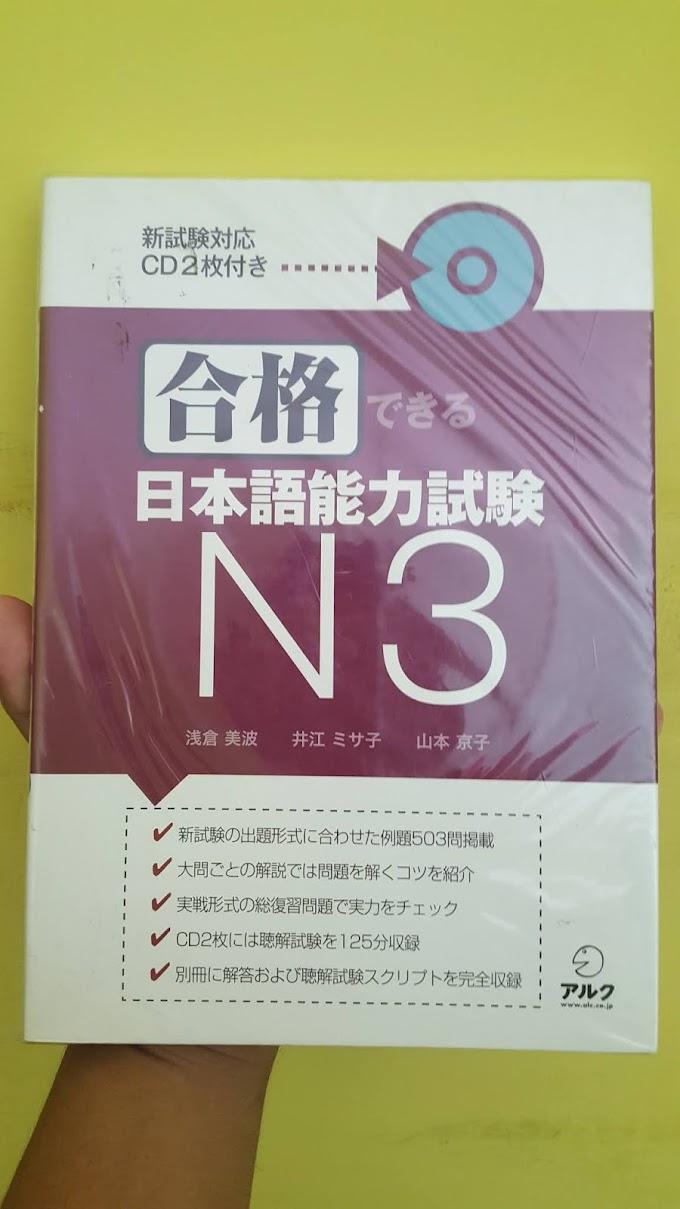 Buku Latihan JLPT N3 Gokaku Dekiru