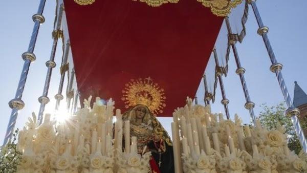 Horario e Itinerario Procesión Extraordinaria de Virgen de la O por su 25 Aniversario. Córdoba 31 de Octubre del 2021