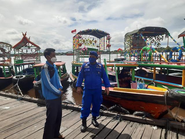 Wisata Susur Sungai Alternatif Hiburan Masyarakat Kotim Saat Pandemi