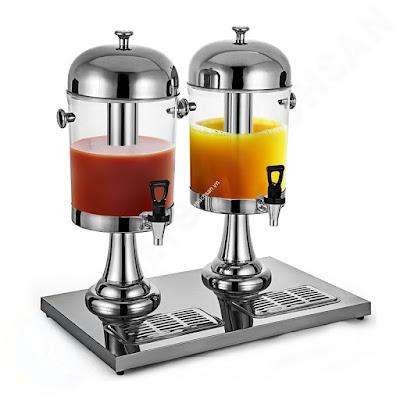 Bình đựng nước buffet giá rẻ 16 lít 2 ngăn BC2200-2