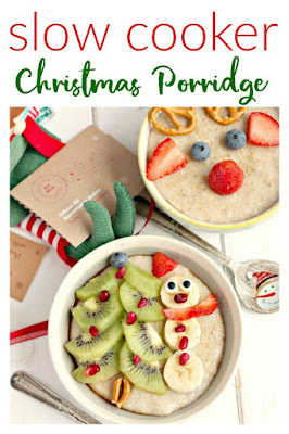 Slow Cooker Christmas Porridge