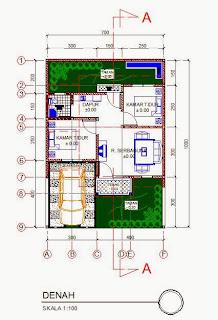 rumah minimalis type 36 1 lantai kumpulan gambar desain