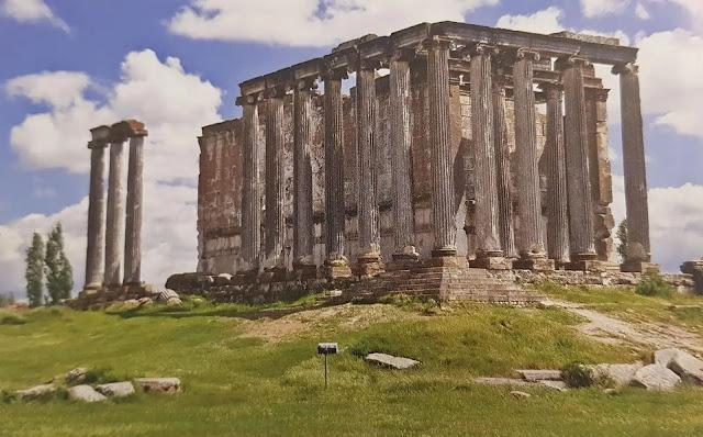 Aizanoi Antik Kenti zeus tapınağı