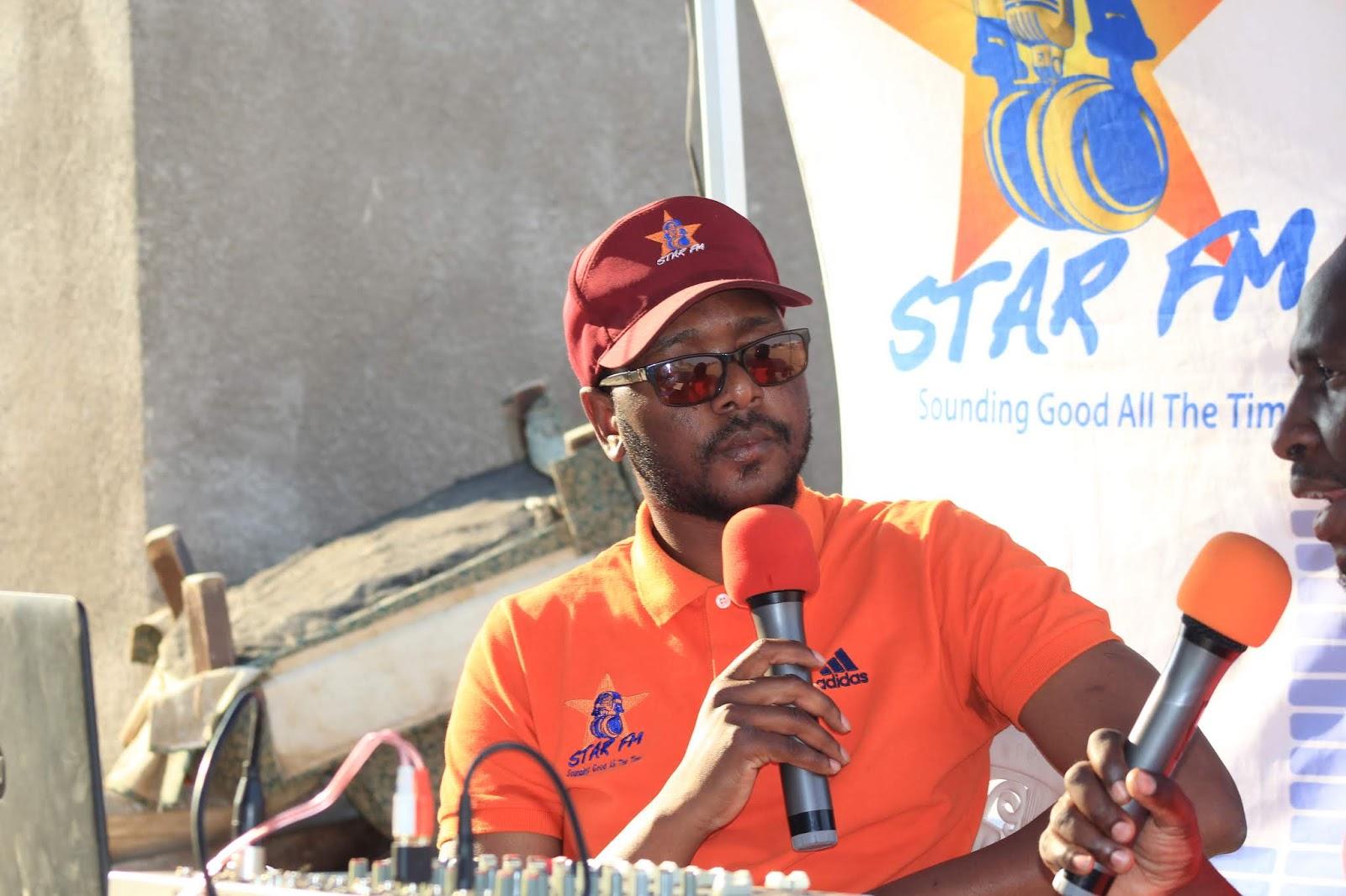 Star FM's Ephraim Tagu (ET)