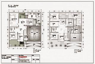 Gambar%2BContoh-Denah-Desain-Rumah-2-Lantai-405x272