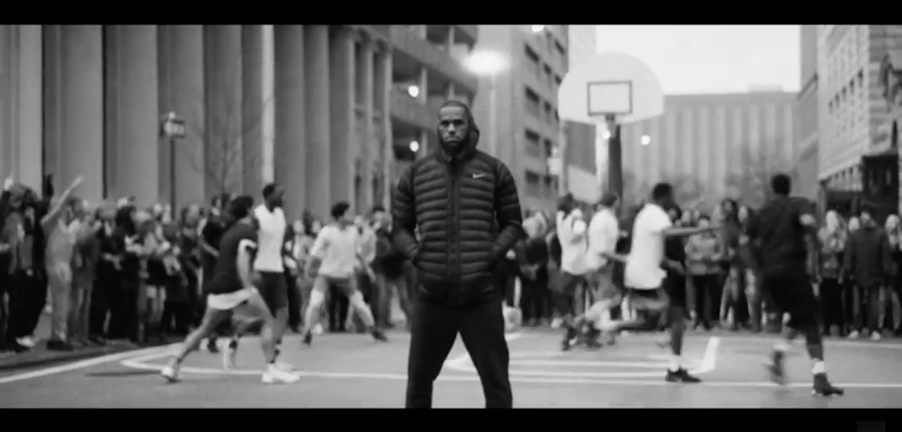 new arrival 4e73b 46e9a ... song lyrics AD MAN, Part 1  LeBron James Promotes Equality in New Nike  Commercial ...