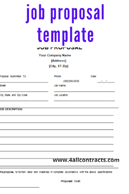 job proposal template google docs
